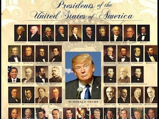 Names Of United States Past President From Independence Till Date