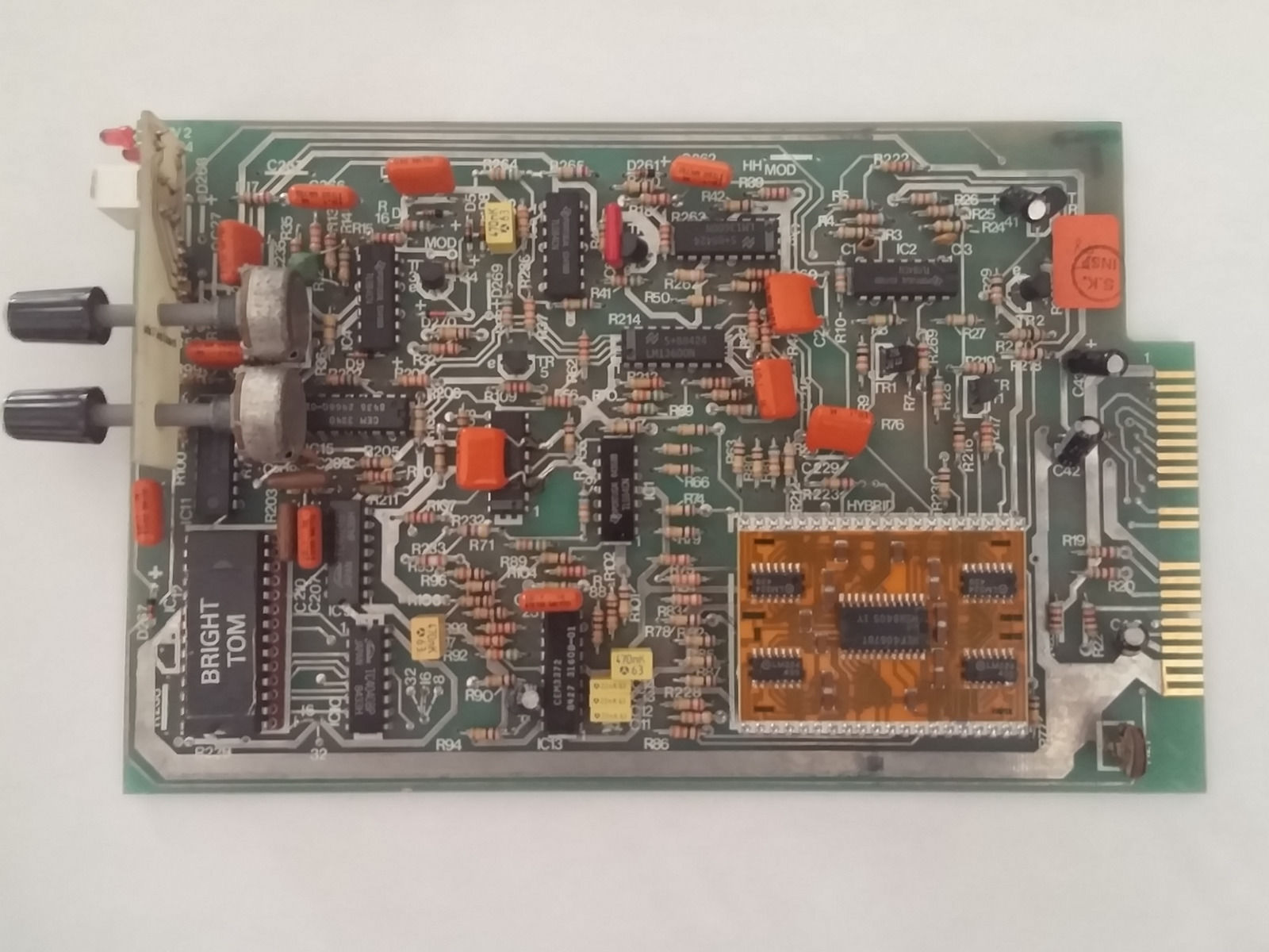 Matrixsynth Vintage Simmons Drums Sds 7 Modules Make Your Own Circuit Board Images Some Pics Of The Internal Boards