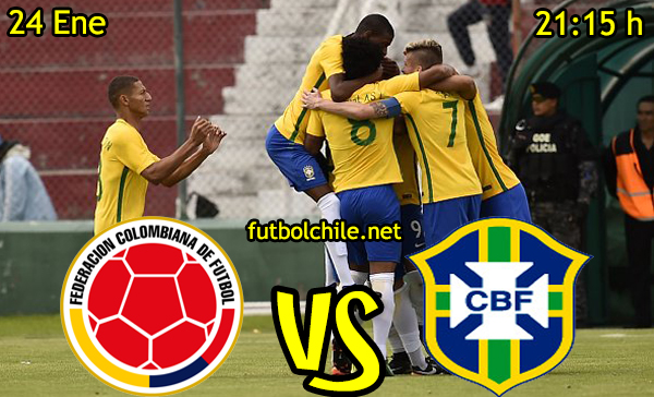 Ver stream hd youtube facebook movil android ios iphone table ipad windows mac linux resultado en vivo, online: Colombia vs Brasil