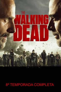 Capa Oitava Temporada de The Walking Dead