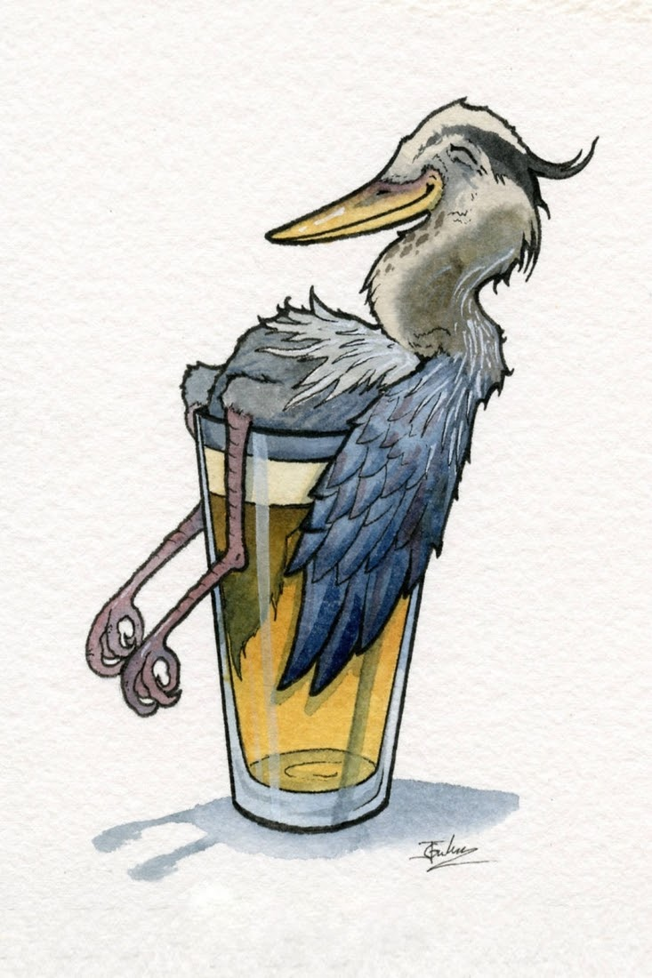 10-Haggard-Heron-Hefeweizen-Jon-Guerdrum-Drawings-of-Surreal-Drinking-Visions-of-Animals-www-designstack-co