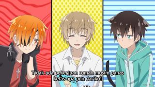 Boku no Tonari ni Ankoku Hakaishin ga Imasu Episode 01 Subtitle Indonesia