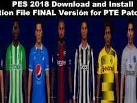 PES 2018 Option File untuk PTE 5.1 update 9/9/2018