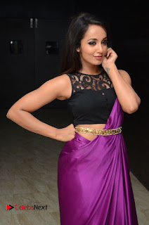 Actress Tejaswi Pictures in Saree at Rojulu Marayi Movie Audio Release Function  0063