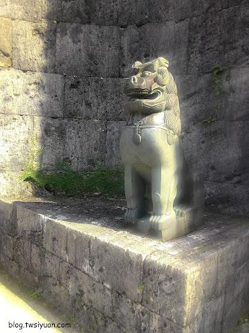首里城的風獅爺