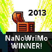 2013 NaNoWriMo Winner