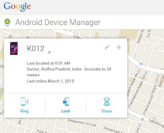 How To Find A lost or Theft Android Phone. « Cyber Security