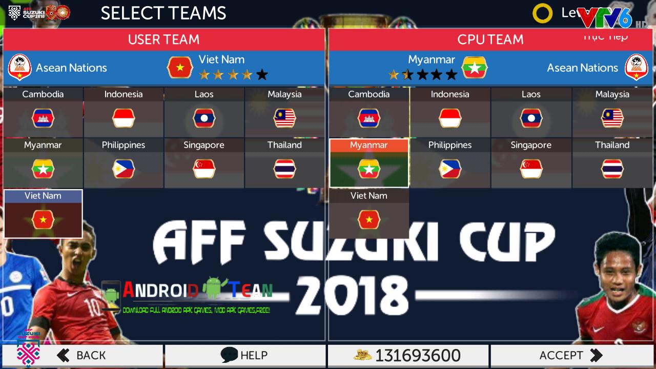 FTS Mod AFF Suzuki Cup v2 & All Europe Transfer 2019 Offline for