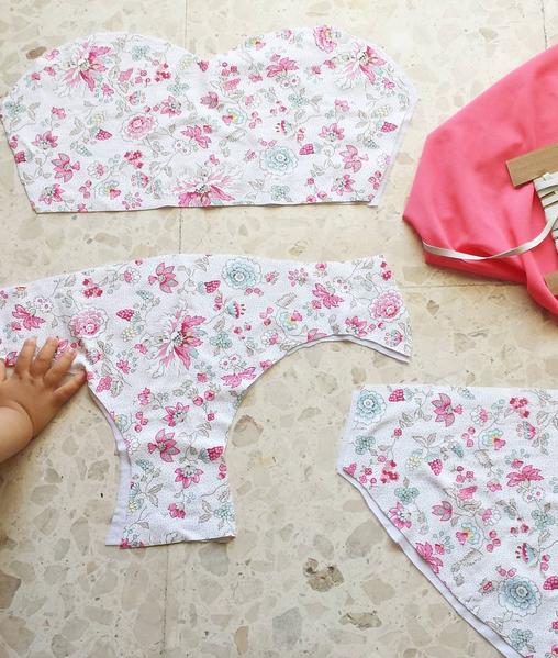 Aprende a coser conmigo un bikini este verano