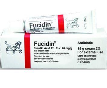 Thuốc bôi da Fucidin