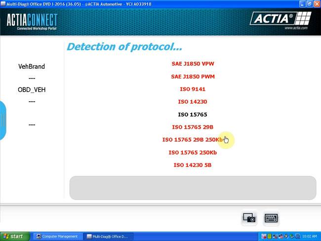 Actia Multi Diag Key Update --