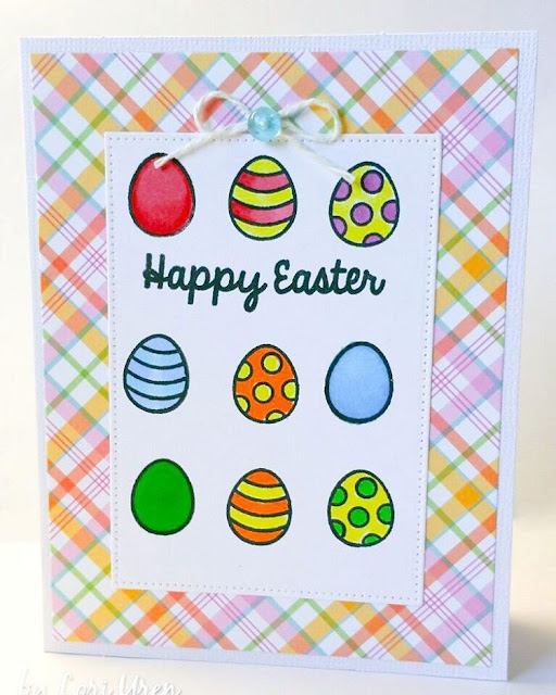 Sunny Studio Stamps: A Good Egg Easter Card by Lori U'ren.