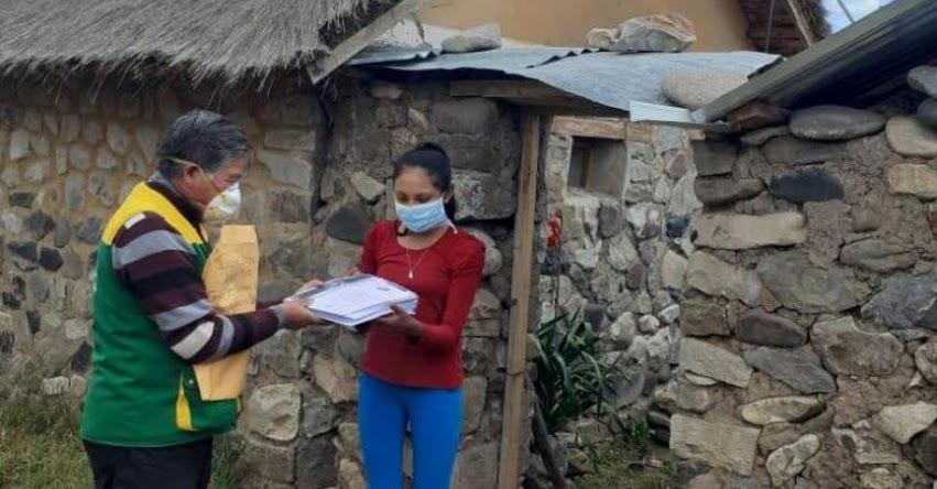 COAR: Ministerio de Educación distribuyó casa por casa materiales educativos a estudiantes de los Colegios de Alto Rendimiento