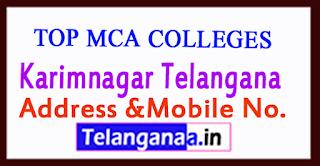 Top MCA Colleges in Karimnagar Telangana