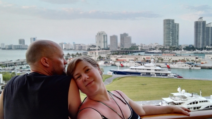 MSC Divina, Karibian risteily Miamista