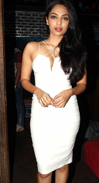 Sobhita Dhulipala Looking Hot in White Dress