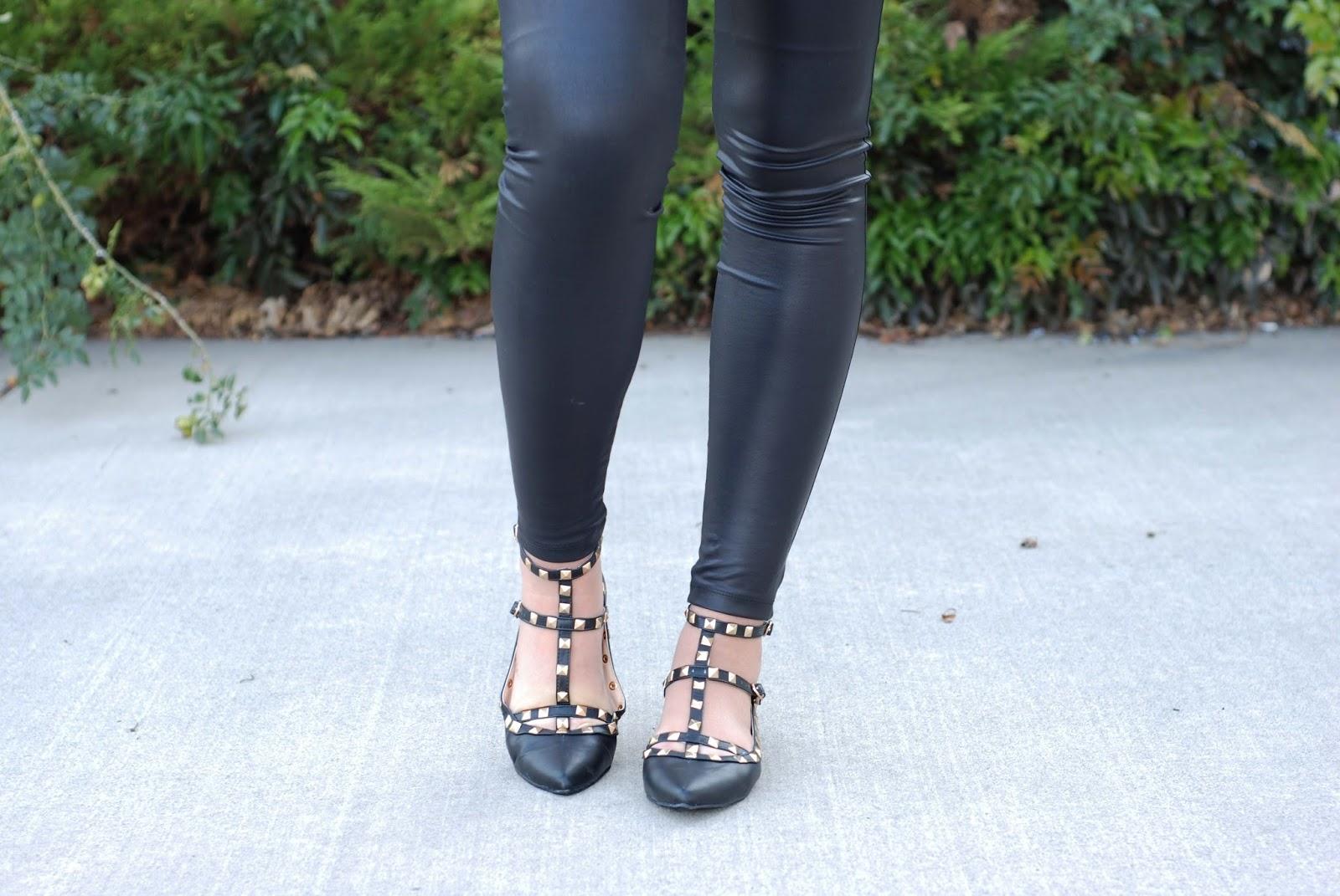 AMI Clubwear, Studded Flats