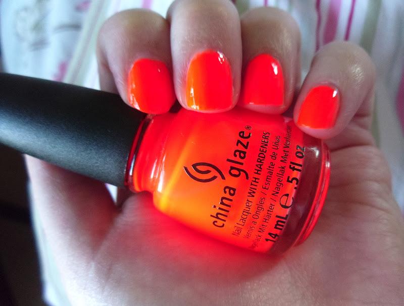 China Glaze Orange Knockout Swatched