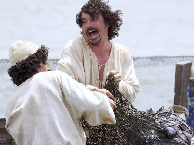 Série Milagres de Jesus primeira temporada, episódio A Pesca Maravilhada apresentada pela Record TV.