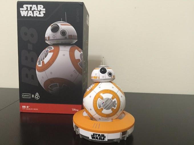 droid BB-8 seperti di film Star Wars kini ada dan bisa anda beli