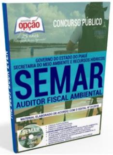 Apostila Auditor Fiscal Ambiental SEMAR PIAUI