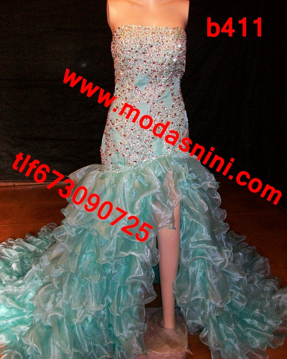 Vestido de novia gitana de segundas
