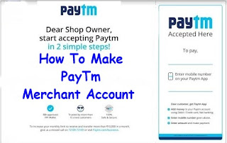 How To Create Paytm Merchant Account