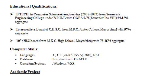 beautiful cse student resume ideas simple resume office