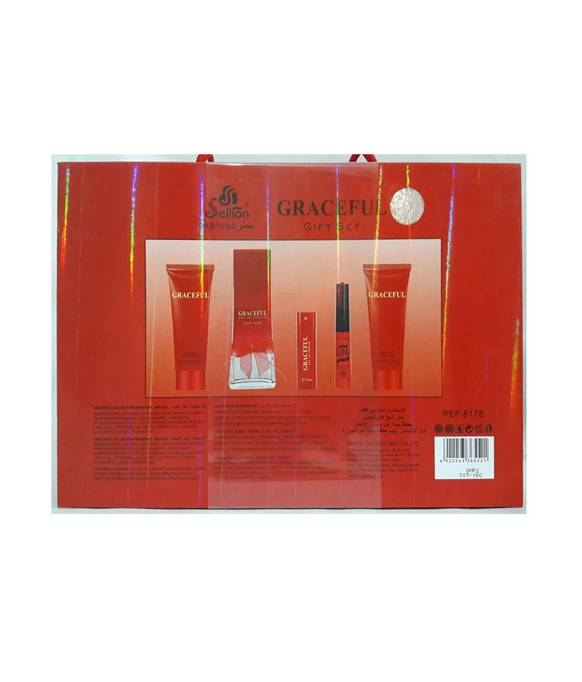 GraceFul Gift Set Sellion Parfums REF: 817E