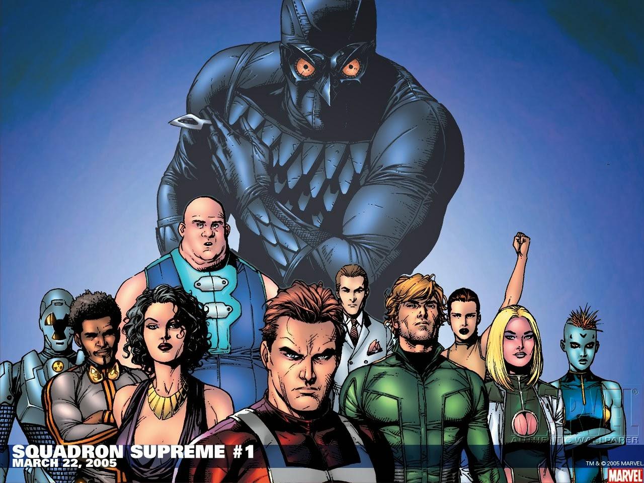 Fondos De Pantalla Supreme: Fondo De Pantalla Marvel Squadron Supreme