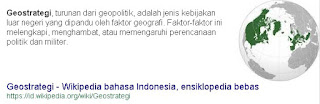 Geopolitik - Geostrategi Indonesia