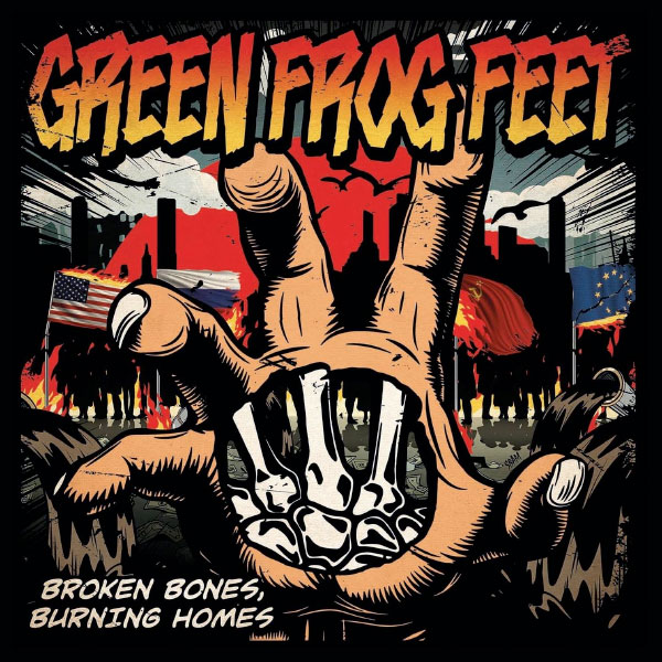 """Green Frog Feet premiere lyric video for new song """"Bullets"""""""