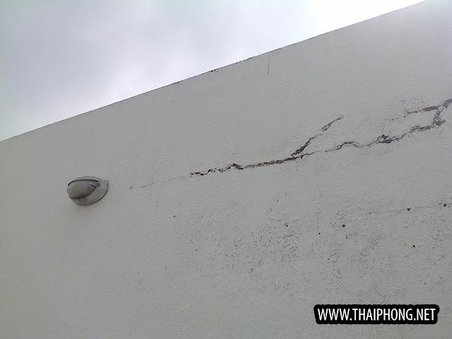 chống thấm nứt tường