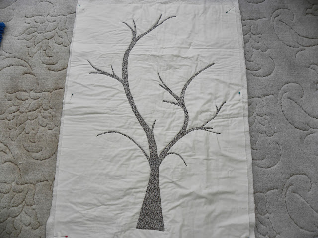 Liberty Patchwork Applique Tree