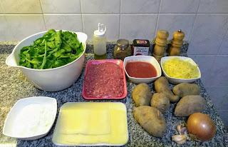 Rollo De Patata Relleno Gratinado