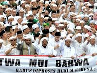 Sejumlah Elemen Umat Islam Datangi Mabes Polri Kawal Kasus Penistaan Alquran oleh Ahok