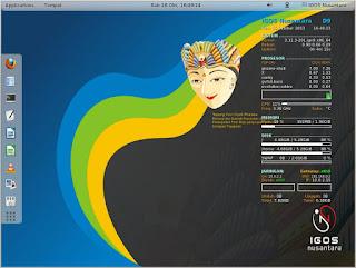 IGOS%2BNusantara - Distro Linux Buatan Indonesia