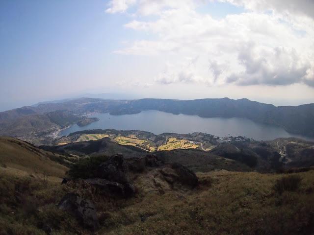 箱根園 駒ヶ岳ロープウェイ 山頂駅から芦ノ湖