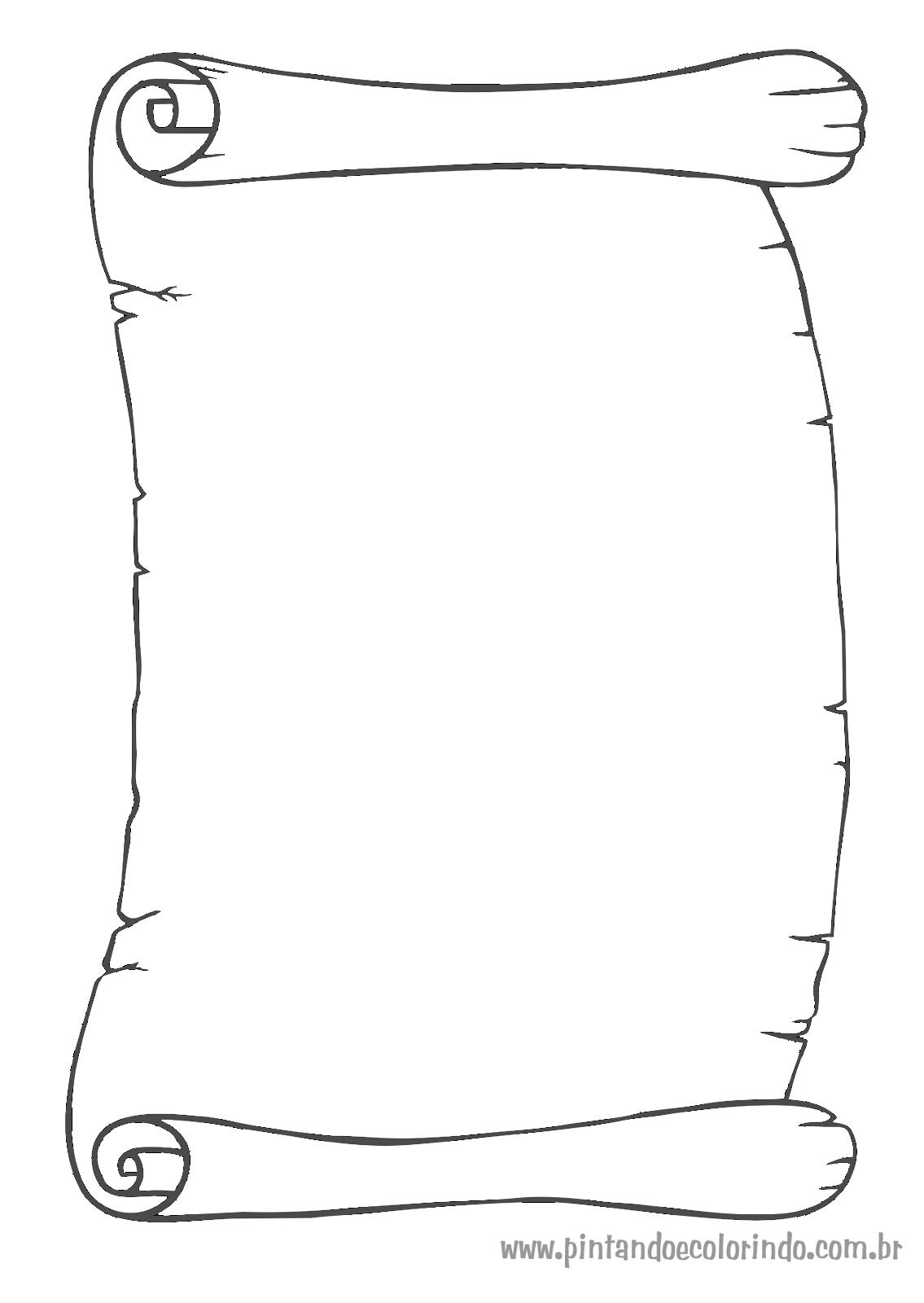 Angelic Pitang Pergaminhos Desenhos