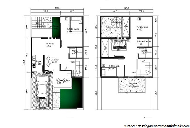 Image Result For Gambar Rumah Minimalis Tiga Kamar