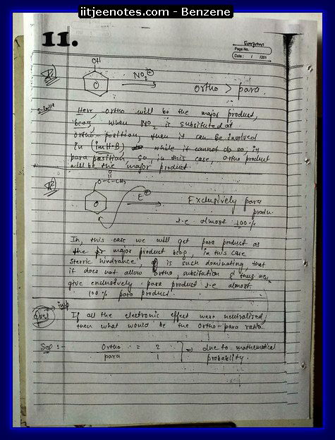 Benzene Notes-CHEMISTRY1