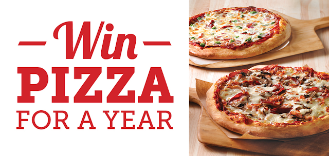 WIN Pizza For a Year!