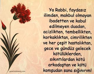 Allah'a yapılan güzel dualar