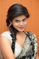 Alekya Hot Photo Shoot in Saree at Kaai Raja Kaai Audio HeyAndhra