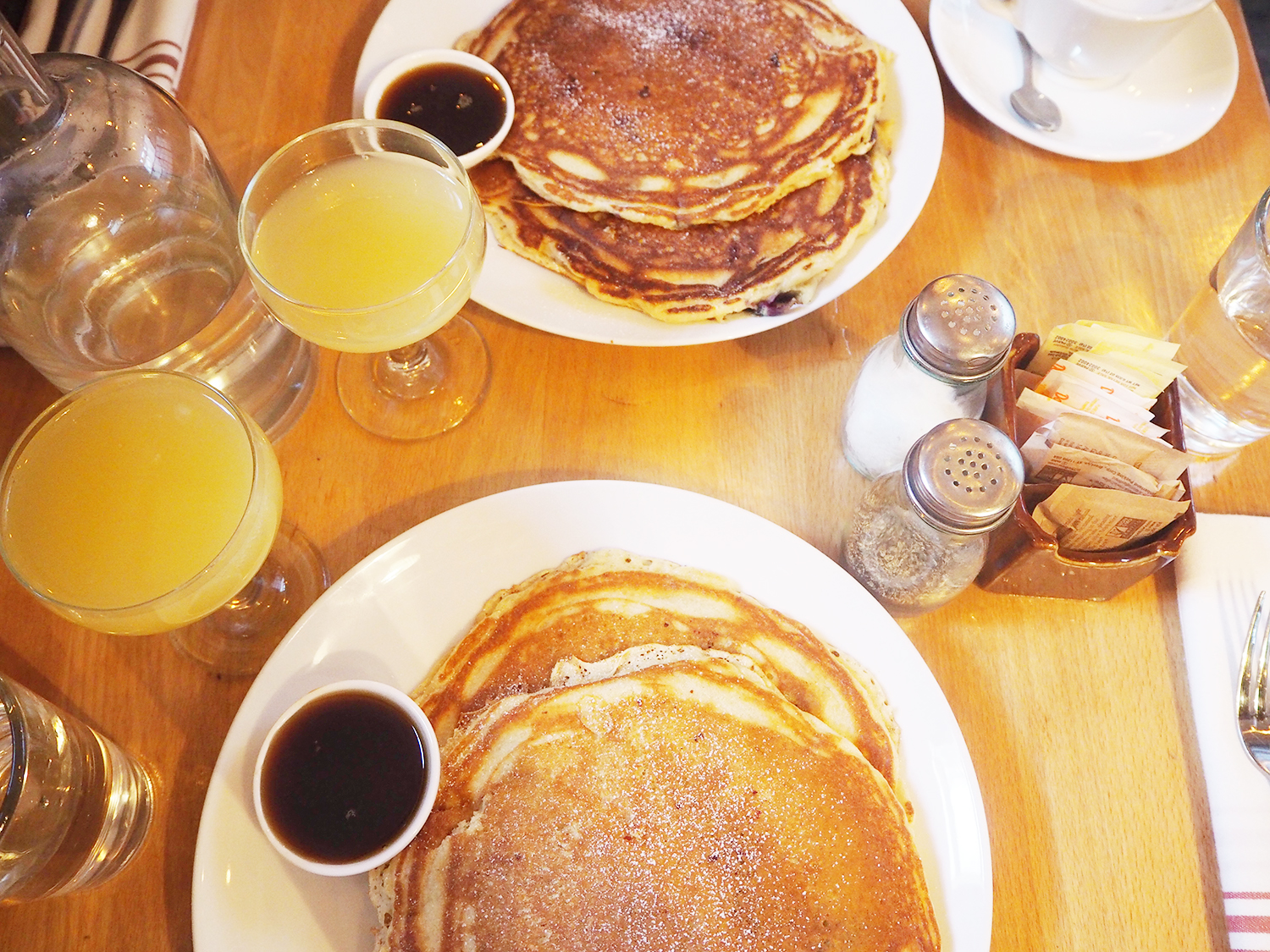 New York pancakes