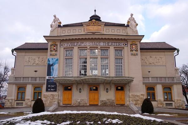 autriche klagenfurt carinthie art nouveau stadttheater