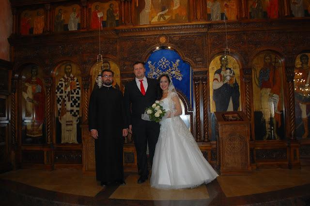 Mi boda ortodoxa serbia