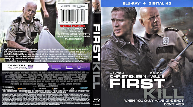 First Kill Bluray Bluray Cover
