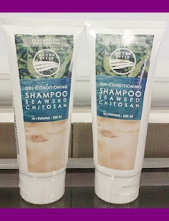 Gel Conditioning Shampoo Seaweed Chitosan - Perawatan Rambut Alami