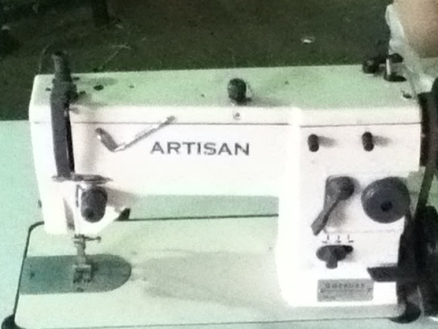 Mi primera máquina de coser industrial fue una enorme decepción